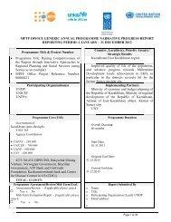 P t RS • M 0 UUU Ven Gov Fou for D MPTF O Program Programme ...
