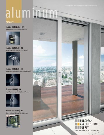 2013 aluminum product catalog - European Architectural Supply