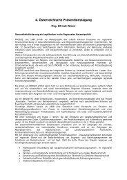 Abstract - Mag. Elfriede Wieser - Fonds Gesundes Österreich