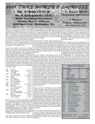 2008 NCAA Tournament First Round Game Notes.indd - Princeton ...
