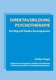 Direktausbildung Psychotherapie - Gesundheitspolitik