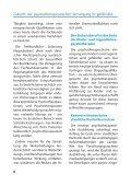 Direktausbildung Psychotherapie - Gesundheitspolitik - Seite 6
