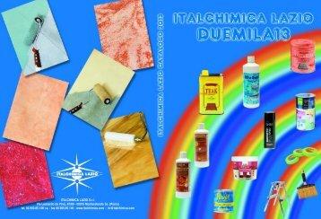 Salva il catalogo in formato PDF - Italchimica