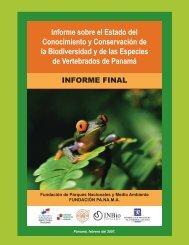 Informe sobre el Estado del Conocimiento y Conservación - Instituto ...