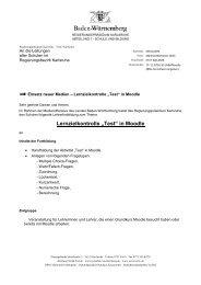 """Lernzielkontrolle """"Test"""" in Moodle - Lehrer.uni-karlsruhe.de"""