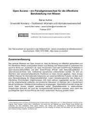 Open Access - Prof. Dr. Rainer Kuhlen