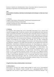 1 Erscheint in: Runkehl, Jens / Schlobinski,Peter / Siever, Torsten (Hg.)