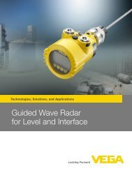 Radar level measurement Radar level measurement The user's guide