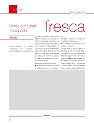 il forno combinato nella pasta fresca - Raimondo Mendolia