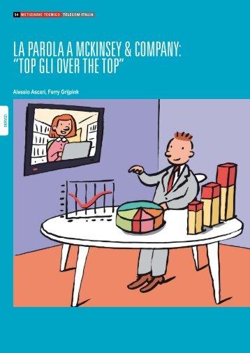 """La parola a McKinsey & Company: """"Top gli Over the ... - Telecom Italia"""