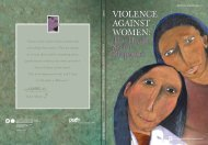 violence against women - PAHO/WHO