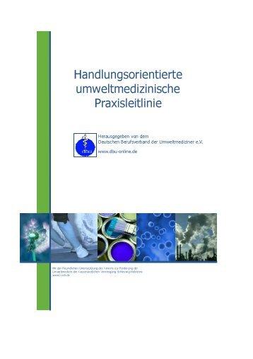 Langfassung (PDF) - Deutscher Berufsverband der Umweltmediziner