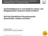 Betriebliches Gesundheitsmanagement - Deutsche Hauptstelle für ...