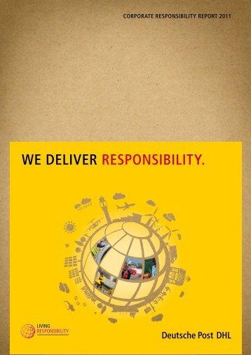 CR Report 2011 - DHL