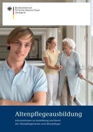 Altenpflegeausbildung - Bundesministerium für Familie, Senioren ...