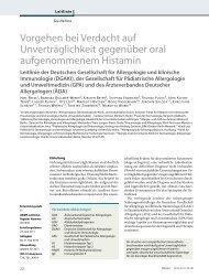 Leitlinie Histaminunverträglichkeit - dgaki