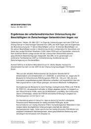 Medienmitteilung als PDF herunterladen - AGR Unternehmensgruppe