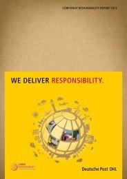 Corporate Responsibility Report 2011 (PDF) - Deutsche Post DHL