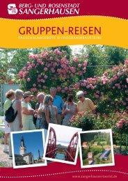 AD 4-Seiter Gruppenreisen NEU - Sangerhausen - Europa ...