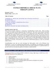 extracorporeal shock wave therapy (eswt) - Health Plan of Nevada