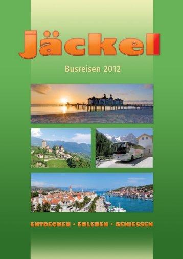 unsere leistungen - Omnibusverkehr und Reisebüro - Wir bewegen ...