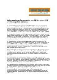 Aktionspapier zur Demonstration am 30. November 2011 am ...