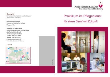 Personalfragebogen - Niels-Stensen-Kliniken