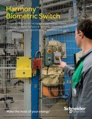 Harmony™ Biometric Switch - Steven Engineering