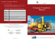 Company Compliance Manual [PDF, 4302 KB, 10pp] - VicRoads