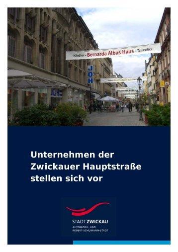 Leistungskatalog Hauptstraße - Stadt Zwickau