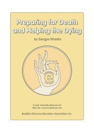 Preparing for Death and Helping the Dying