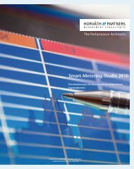 Smart-Metering-Studie 2010 - Horváth & Partners Management ...