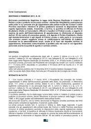 Corte Cost legge polmun Basilicata - EDK Editore Srl