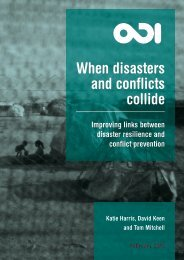 When disasters and conflicts collide - World We Want 2015
