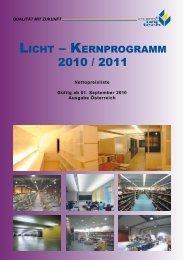 Licht – Kernprogramm - Euro Unitech