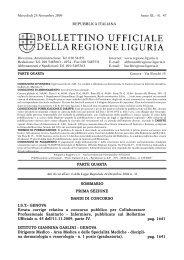 pag. 1641 pag. 1641 SOMMARIO PRIMA SEZIONE BANDI DI ...