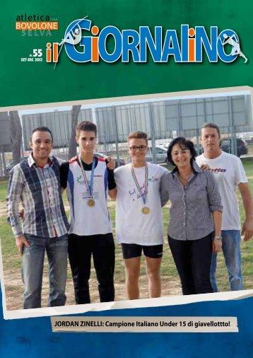 Apri il giornalino - Atletica Bovolone