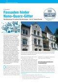 Saubere Fassaden: Nano-Quarz- Gitter Technologie Saubere Fassaden ... - Page 4