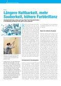 Saubere Fassaden: Nano-Quarz- Gitter Technologie Saubere Fassaden ... - Page 6
