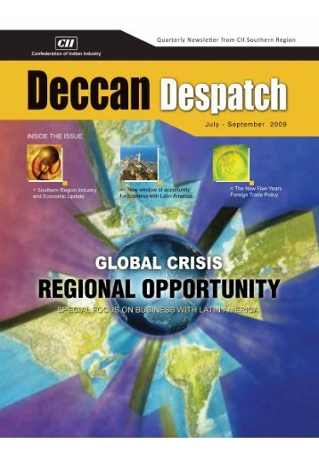 Deccan Despatch (July - September 2009) - CII