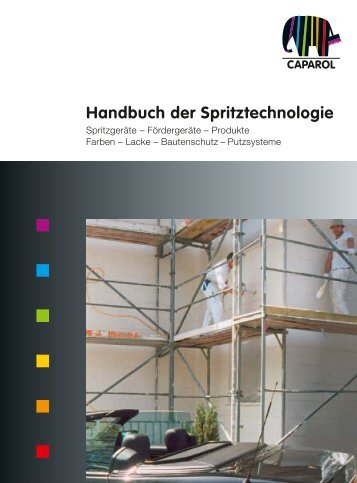 Handbuch der Spritztechnologie