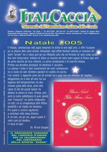 Natale 2005 Natale 2005 - Italcaccia