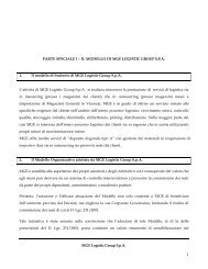 Modello di Organizzazione, Gestione e Controllo Parte Speciale
