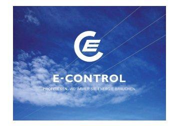 DI Klemens Leeb, e-control - All2Web