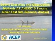 Debris Detection Measurement Methods - NREL
