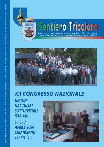 N° 1 Anno XIV (LIV) ~ Gennaio Febbraio 2006 - Unione Nazionale ...