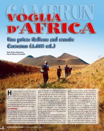CAMERUN - Voglia d'Africa - Viaggi Avventure nel mondo