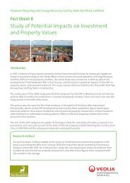 Property Values Impact Study - Veolia Environmental Services