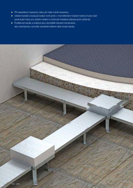 UFS. Systémy do betonu IBK - OBO Bettermann