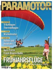 Auszug aus Paramotor 2/2011 - Harzer Gleitschirmschule